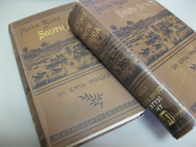 Seven Years iin South Africa - Travels, Researches, and Hunting Adventures, between the Diamond-Fields and the Zambesi (1872-79) - in Two Volumes. Emil Dr Holub, Ellen E. (transl Frewer.