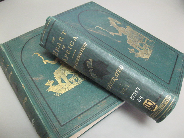 The Heart of Africa: Three Years' Travels and Adventures in the Unexplored Regions of Central Africa, from 1868 to 1871 (2 Volumes). Georg Schweinfurth.