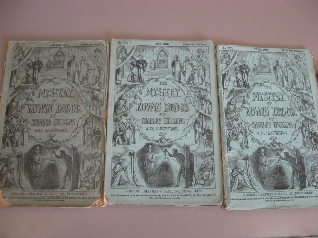 The Mystery of Edwin Drood [First Edition in Original Monthly Parts, 1-6