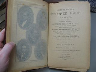 History of the Colored Race in America. Second Revised Edition.