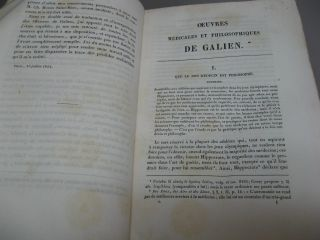 Oeuvres Anatomiques, Physiologiques et Medicales de Galien, Tomes I & II