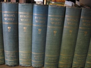 The Works of Lord Byron 13 Volumes. ron