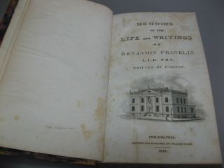 Memoirs of the Life and Writing of Benjamin Franklin. Vol. I.
