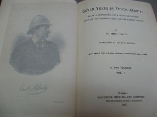 Seven Years iin South Africa - Travels, Researches, and Hunting Adventures, between the Diamond-Fields and the Zambesi (1872-79) - in Two Volumes