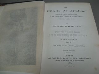 The Heart of Africa: Three Years' Travels and Adventures in the Unexplored Regions of Central Africa, from 1868 to 1871 (2 Volumes)