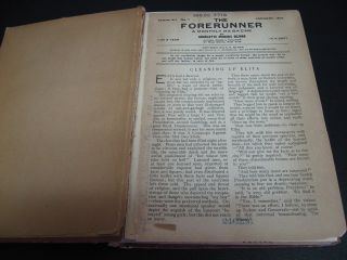 The ForeRunner. Vol. VII. (1916)