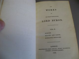 The Works of Lord Byron. 13-volumes