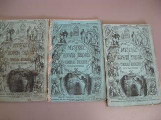 The Mystery of Edwin Drood [First Edition in Original Monthly Parts, 1-6]